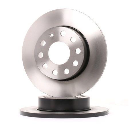 Bremsscheibe Bremsscheibendicke: 12mm, Lochanzahl: 9, Ø: 256mm mit OEM-Nummer 1K0.615.601L