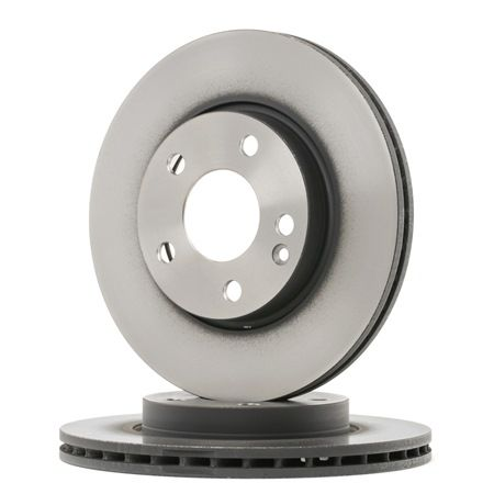 Brake discs and rotors TRW 2189598 Vented, Painted, High-carbon
