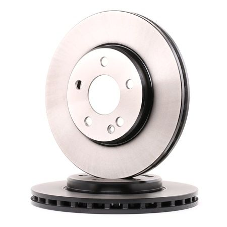 Brake discs and rotors TRW 2189649 Vented, Painted