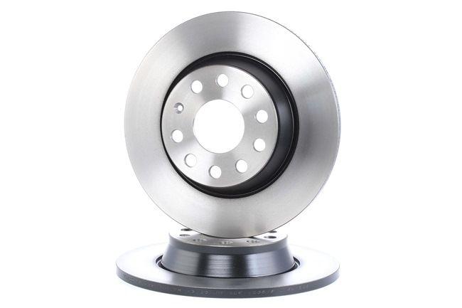 Bremsscheibe Bremsscheibendicke: 12mm, Lochanzahl: 9, Ø: 282mm mit OEM-Nummer 1K 0615 601 AD