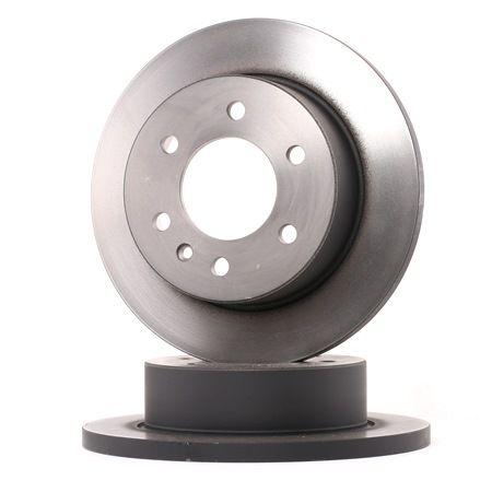 Bremsscheibe Bremsscheibendicke: 16,3mm, Lochanzahl: 6, Ø: 298mm mit OEM-Nummer 9064230012