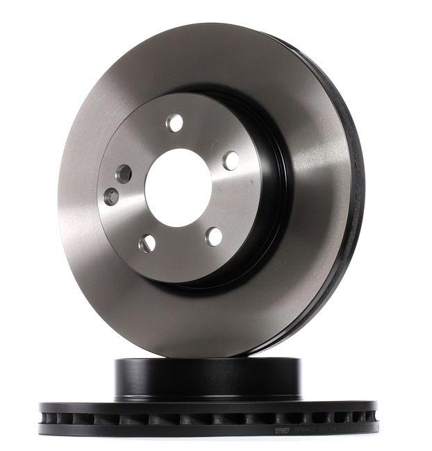 TRW Frenos de disco MERCEDES-BENZ ventilado, barnizado, altamente carbonizado