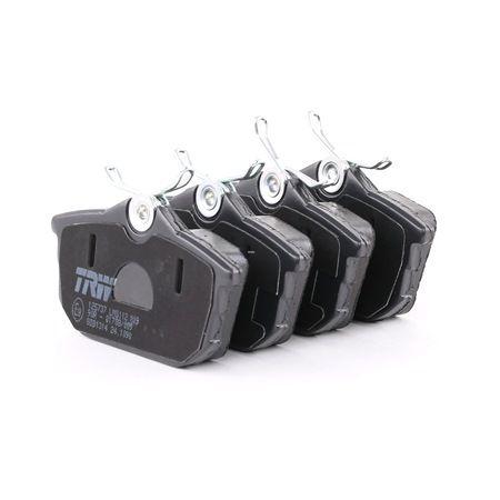 Juego de pastillas de freno TRW 21861 con avisador acústico de desgaste, con tornillos pinza freno, con accesorios