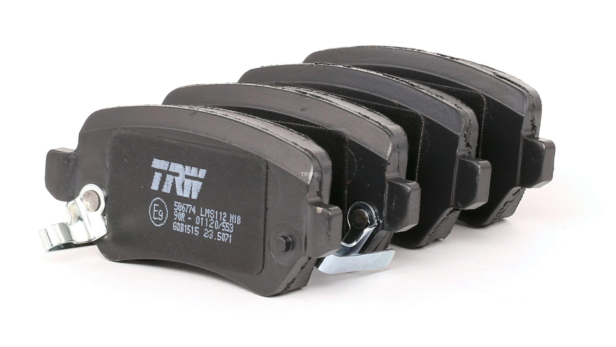 Bremsbelagsatz TRW 23654 Bewertung