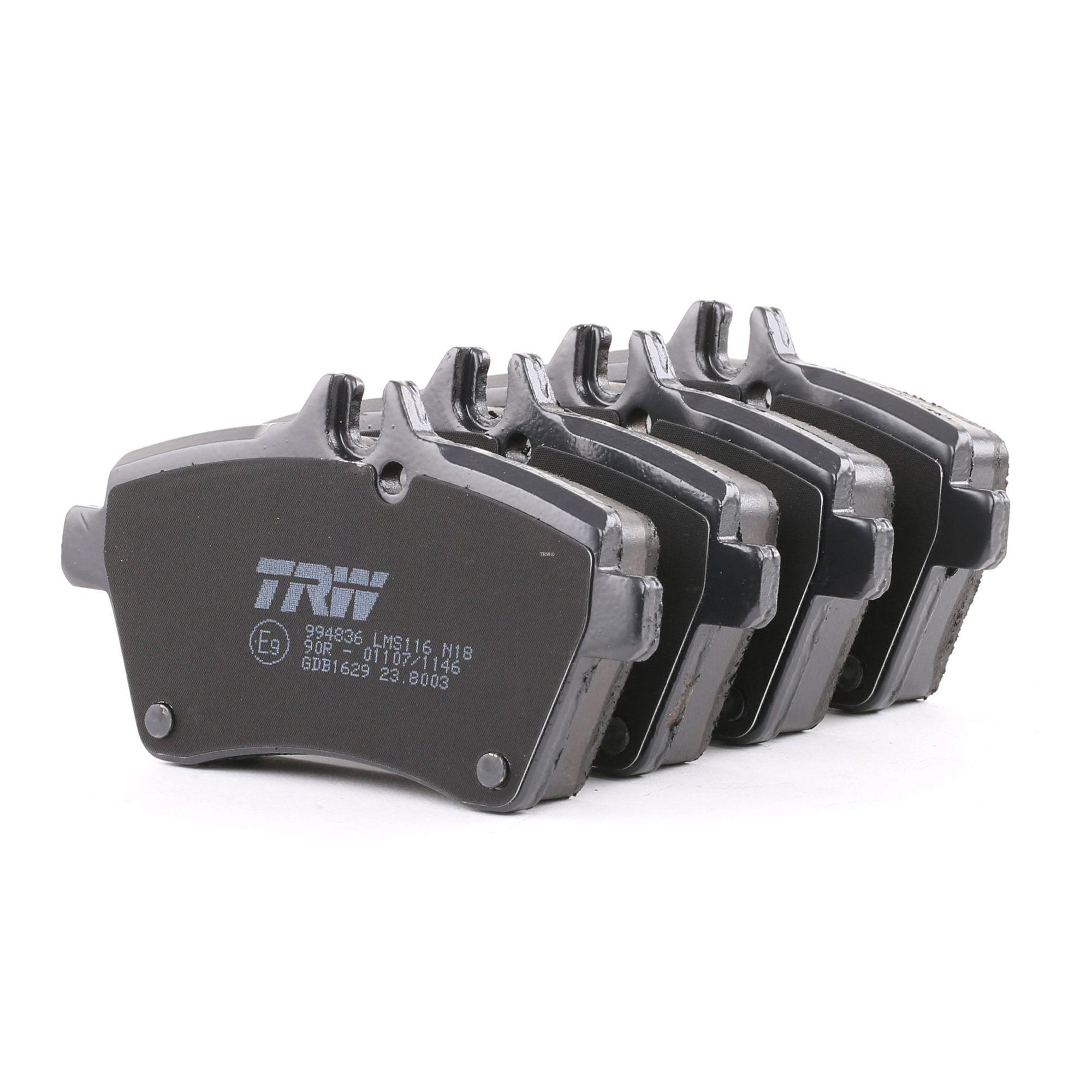 Bremsbelagsatz TRW GDB1629 Bewertung
