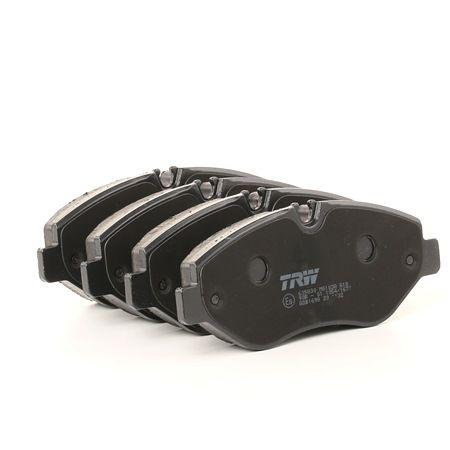 TRW COTEC Brzdové destičky MERCEDES-BENZ pro uzavírací výstražný ukazatel, Šrouby třmenů, s příslušenstvím