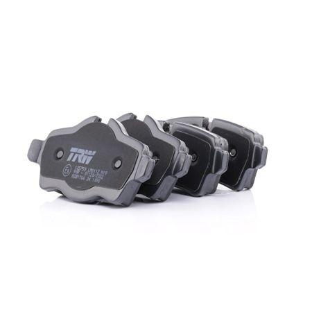 Brake Pad Set, disc brake Article № GDB1766 £ 150,00
