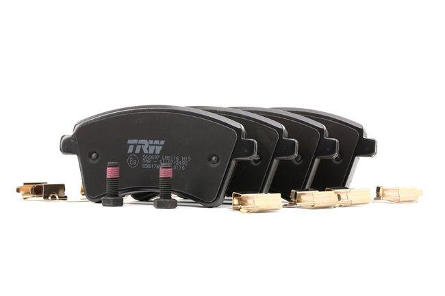 OEM Jogo de pastilhas para travão de disco TRW GDB1785