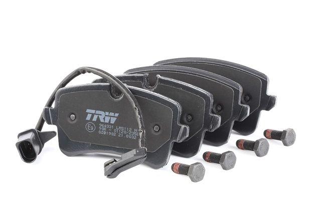 Kit de plaquettes de frein, frein à disque Hauteur 1: 58,8mm, Hauteur 2: 60,0mm, Épaisseur: 17,5mm avec OEM numéro 4G0 698 451H