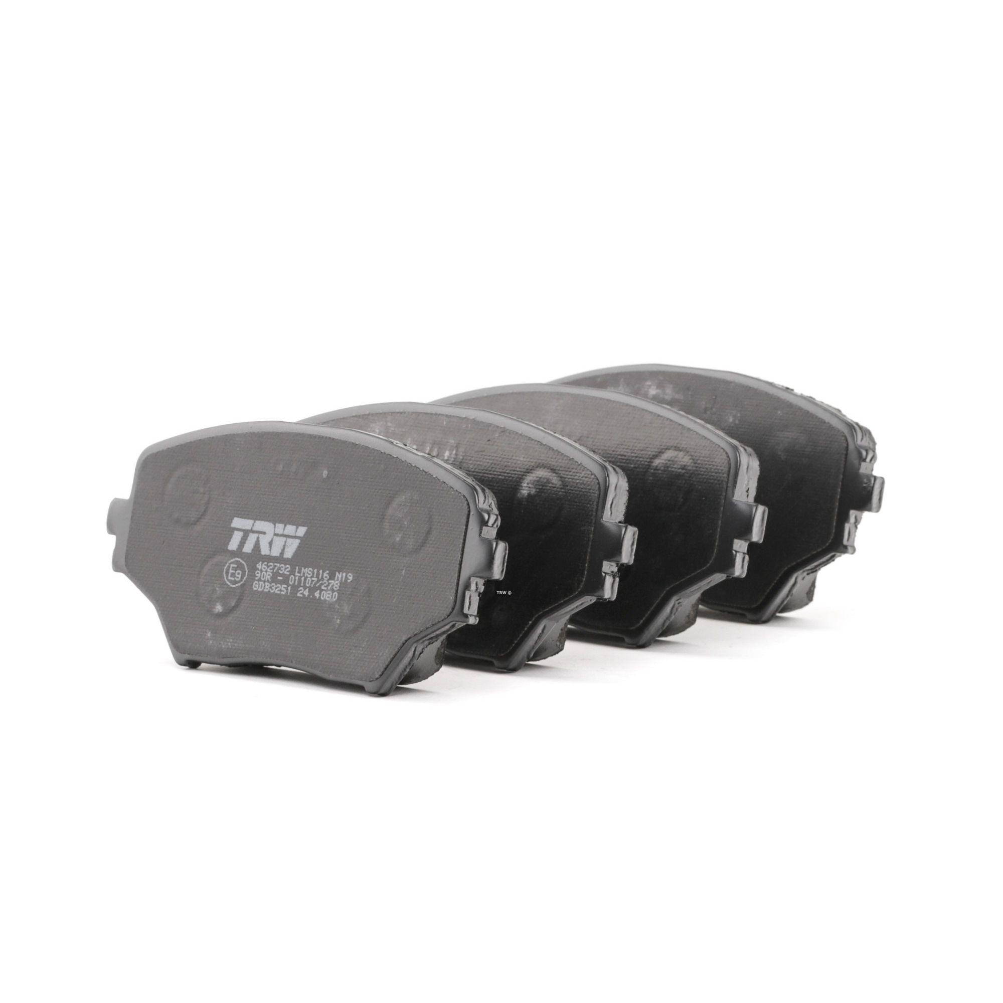 Bremsbelagsatz TRW GDB3251 Bewertung