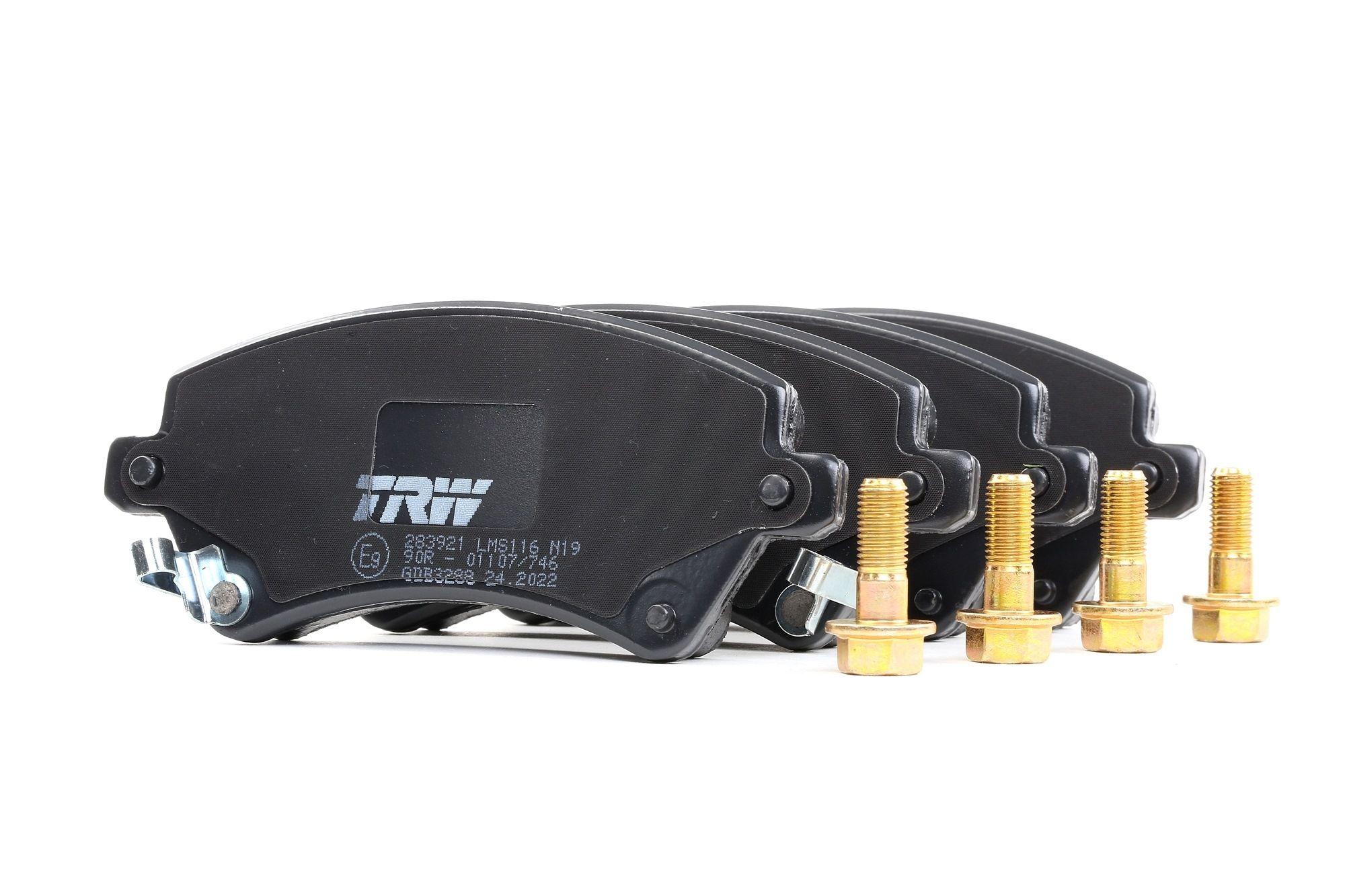 Scheibenbremse TRW GDB3297 Bremsbelagsatz