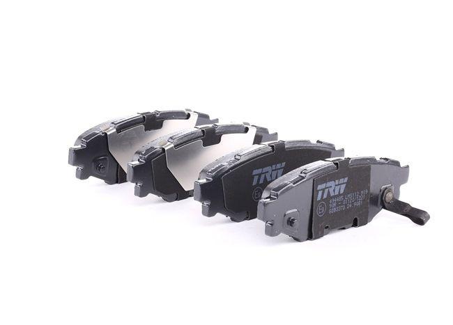 TRW COTEC Комплект накладки TOYOTA с акустично предупреждение за износване