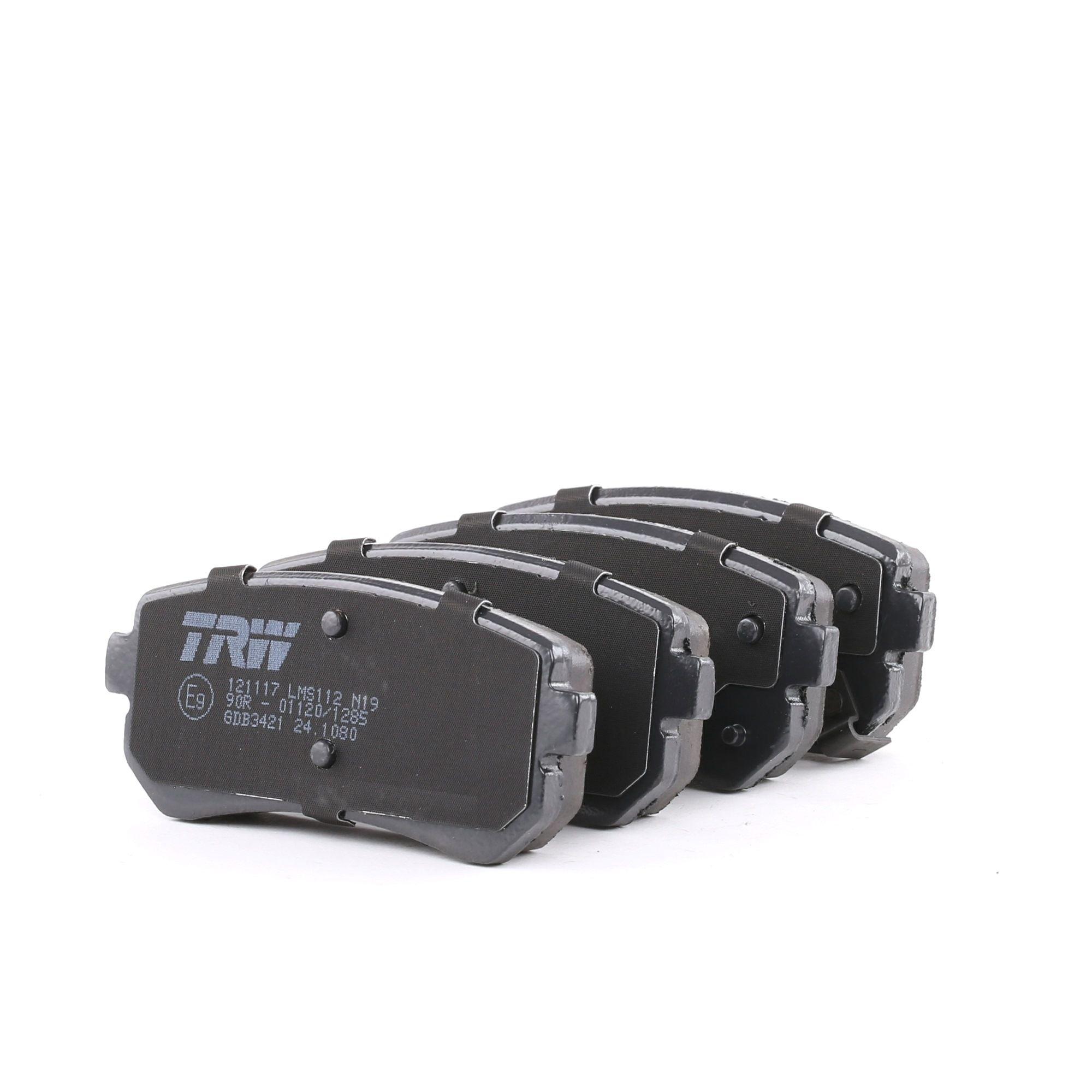 Disk brake pads TRW 24321 rating