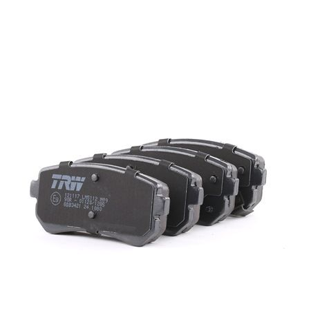Disk brake pads TRW 24322 with acoustic wear warning