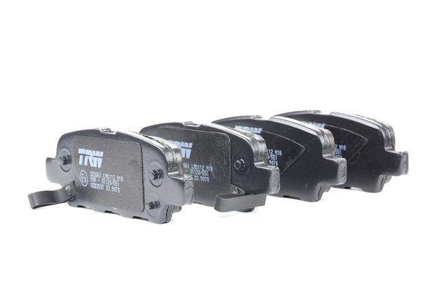 TRW COTEC mit akustischer Verschleißwarnung GDB3507