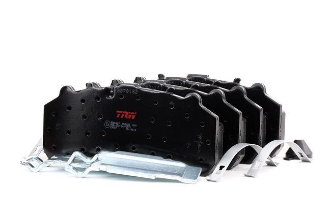TRW Brzdové destičky MERCEDES-BENZ pro uzavírací výstražný ukazatel
