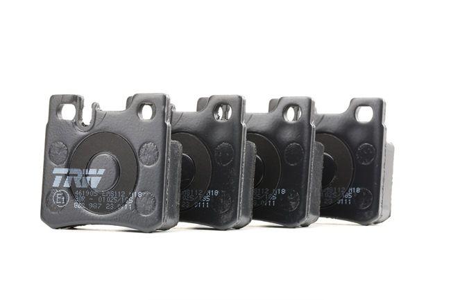 Bremsbelagsatz, Scheibenbremse Höhe: 58,5mm, Dicke/Stärke: 15,2mm mit OEM-Nummer A00 142 09 520