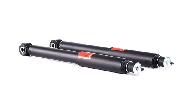 Amortiguador TRW 2197935 Eje trasero, Bitubular, Presión de gas, Columna de amortiguador, Anillo inferior, Espiga arriba, sin accesorios