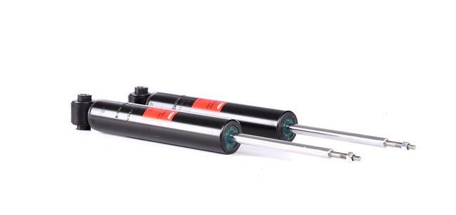 Struts TRW 2197943 Rear Axle, Twin-Tube, Gas Pressure, Telescopic Shock Absorber, Bottom eye, Top pin