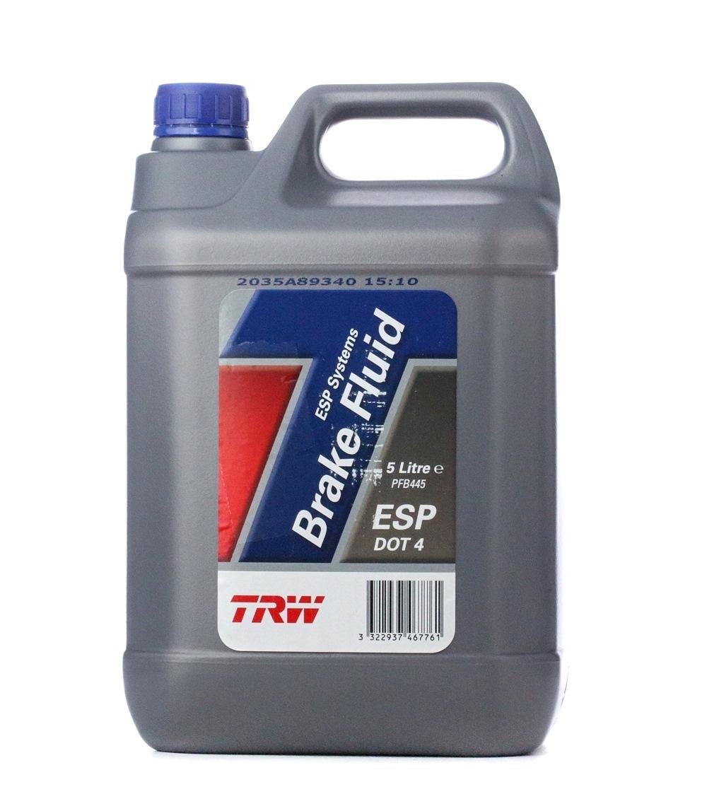 Bremsflüssigkeit TRW PFB445 Bewertung
