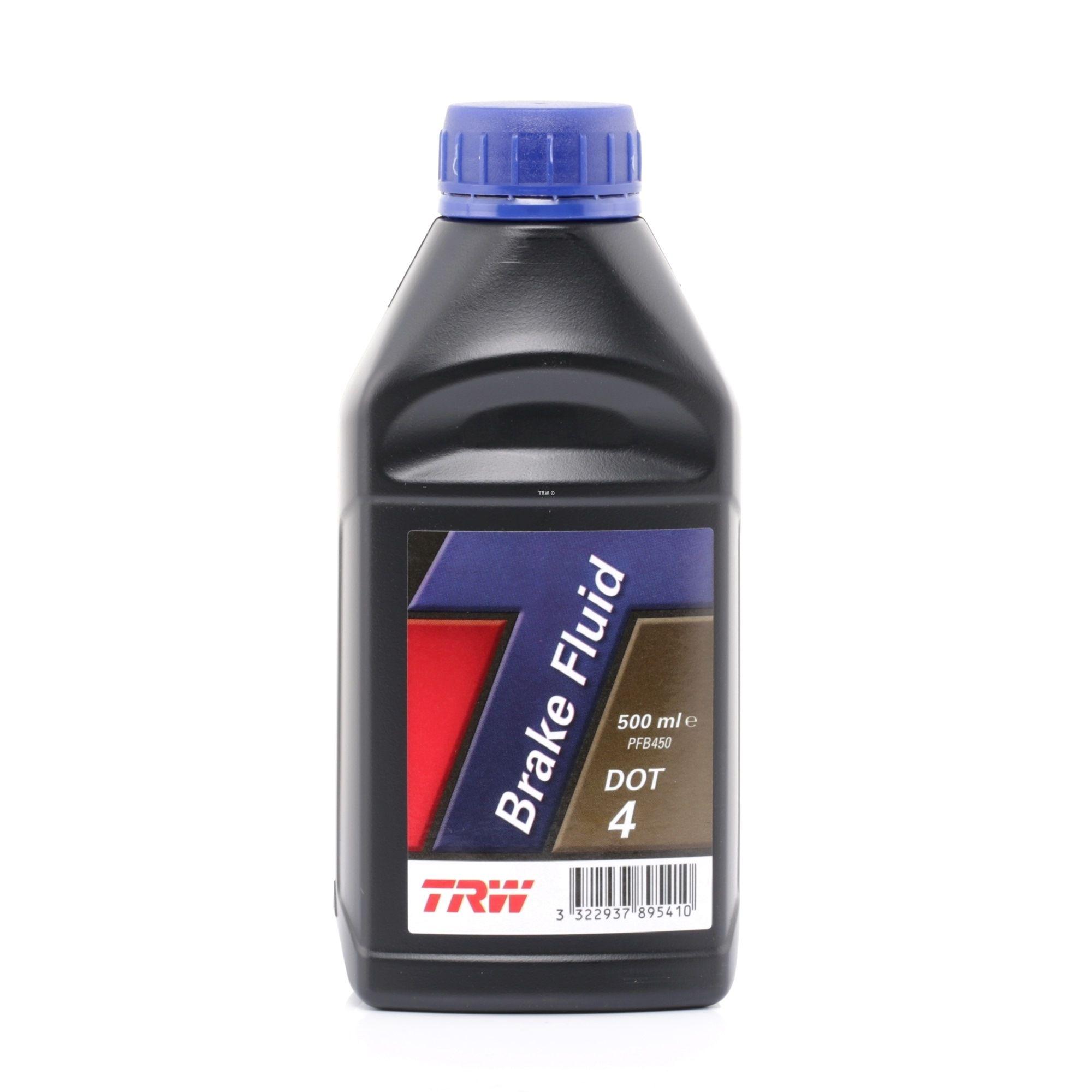 Bremsflüssigkeit TRW PFB450 Bewertung