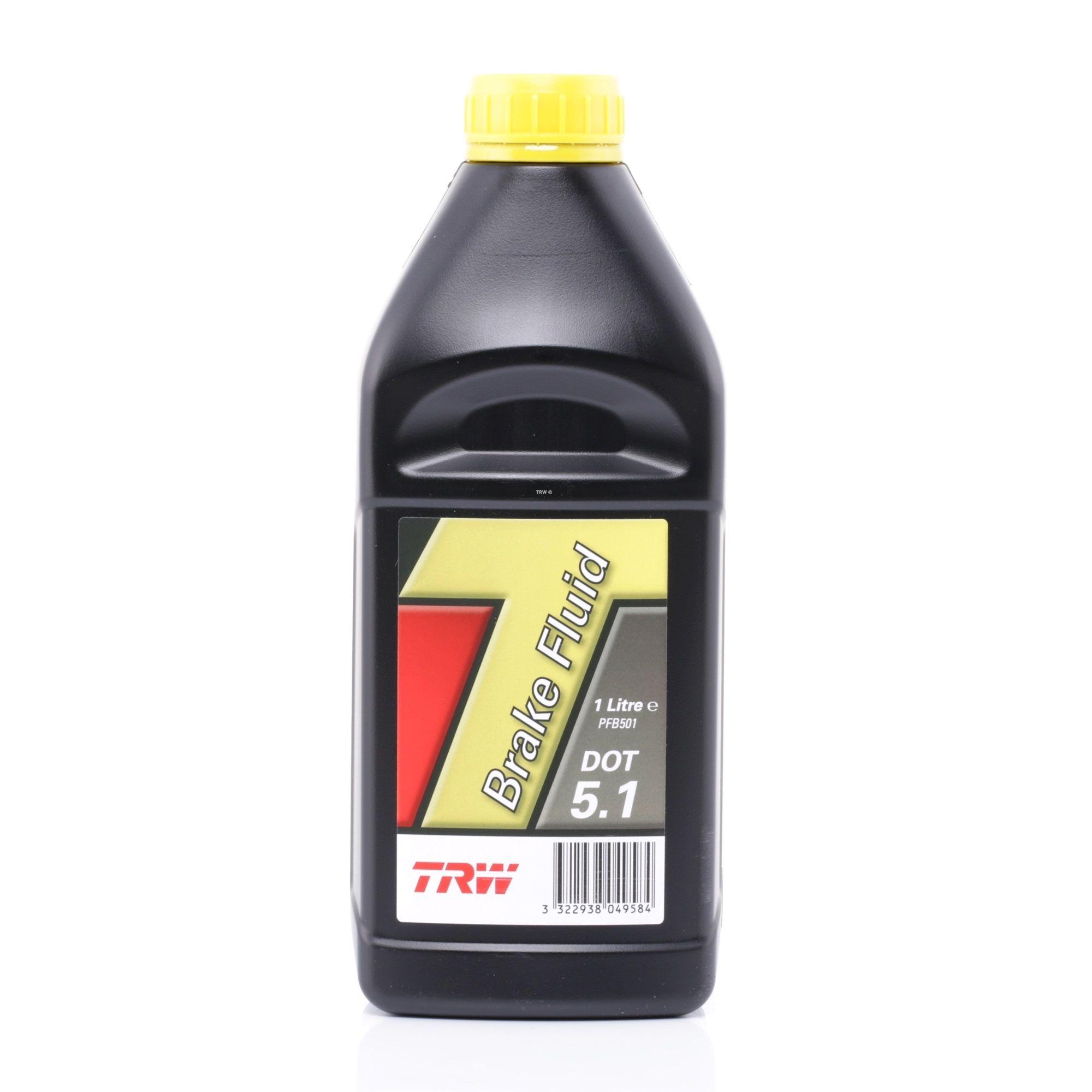 Bremsflüssigkeit TRW PFB501 Bewertung