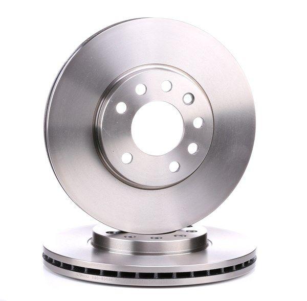 VAICO Disc frana V40-80036 cu OEM Numar 9117678