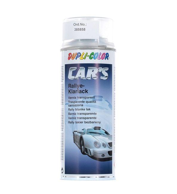 Klarlack DUPLI COLOR 385858 für Auto (Cars Rallye-Klarlack glzd. 400, Inhalt: 400ml)