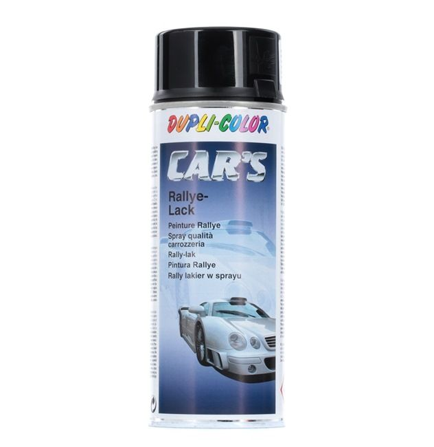Automotive paints DUPLI COLOR 385865 for car (1K Paint, Contents: 400ml, CST5197, Black)