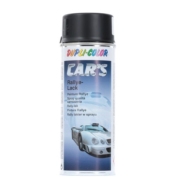 Automotive paints DUPLI COLOR 385872 for car (1K Paint, Contents: 400ml, CST5198, Black)