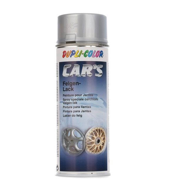 Automotive paints DUPLI COLOR 385919 for car (1K Paint, Contents: 400ml, CST5202, Silver)