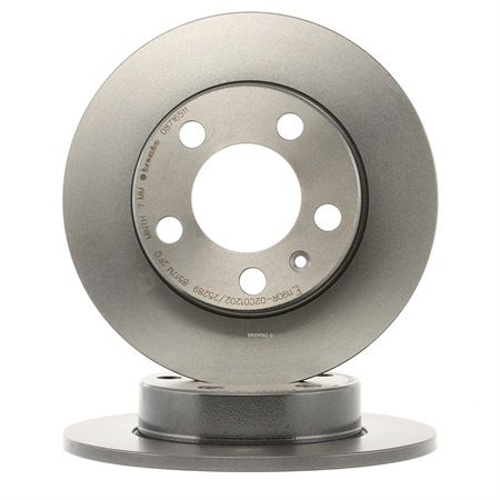 OEM Brake Disc 08.7165.11 from BREMBO