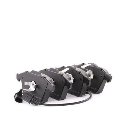 Bremsbelagsatz, Scheibenbremse Breite 1: 155mm, Breite 2: 156mm, Höhe: 72,8mm, Dicke/Stärke: 20,2mm mit OEM-Nummer 8E0 698 151L