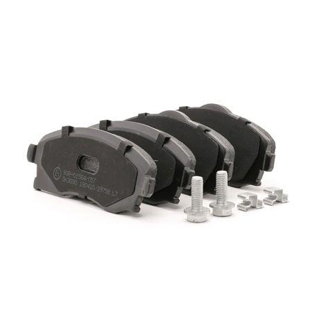 Bremsbelagsatz, Scheibenbremse Breite: 131,5mm, Höhe 1: 52,5mm, Höhe 2: 55,6mm, Dicke/Stärke: 17mm mit OEM-Nummer 92 001 08
