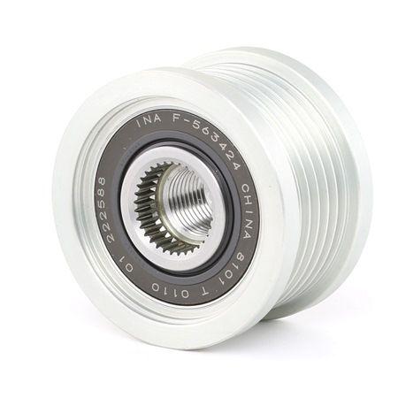 Zahnriemenscheiben: INA 535020210 Generatorfreilauf