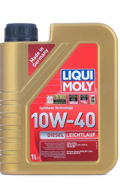 Λάδι κινητήρα: LIQUI MOLY DieselLeichtlauf10W40