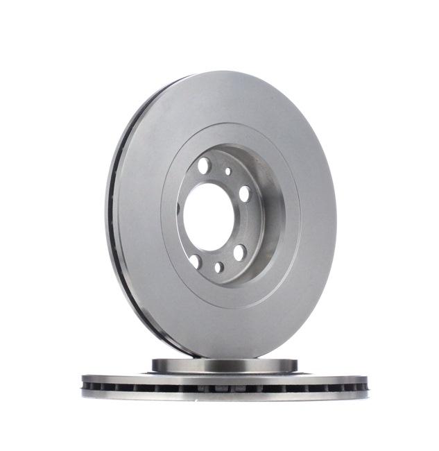 Bremsscheibe Bremsscheibendicke: 22mm, Ø: 280mm mit OEM-Nummer JZW 615 301