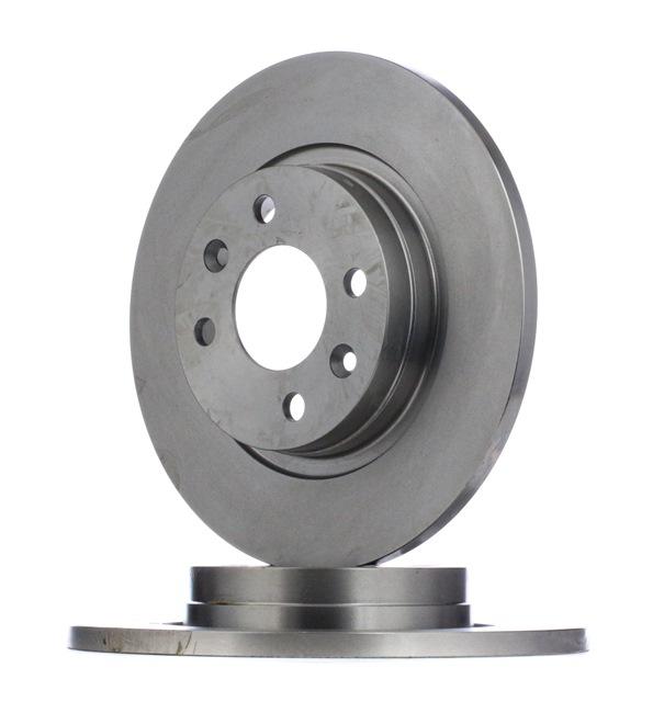 Bremsscheibe Bremsscheibendicke: 12mm, Lochanzahl: 4, Ø: 259mm mit OEM-Nummer 60015 47683