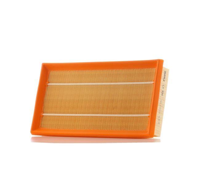 Filtro de aire motor MAHLE ORIGINAL 76625321 Cartucho filtrante