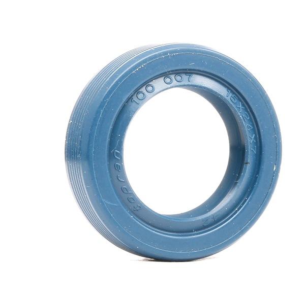 Getriebeteile: TOPRAN 100007 Wellendichtring, Schaltgetriebe