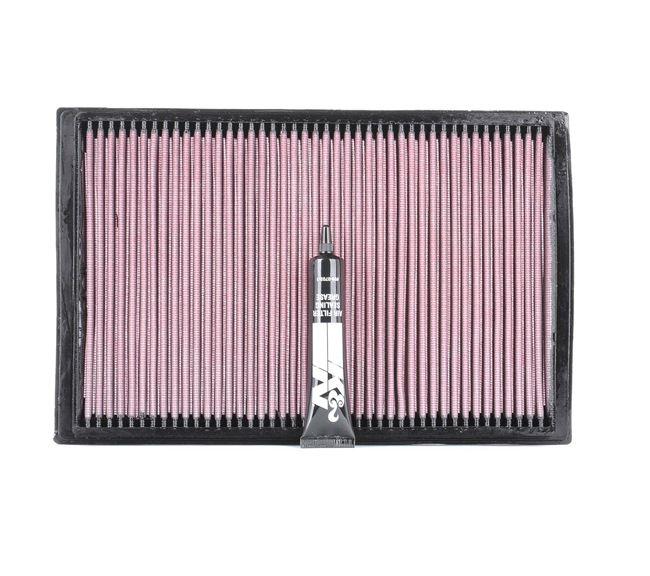 Air filter K&N Filters 2734073 Long-life Filter
