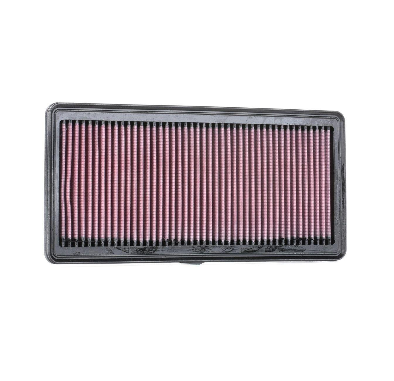 Filtro de aire K&N Filters 33-2842 evaluación