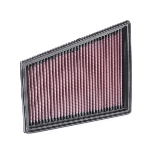Air Filter 33-2849 K&N Filters Long-life Filter Length: 244mm, Width: 191mm, Height: 32mm, Length: 244mm