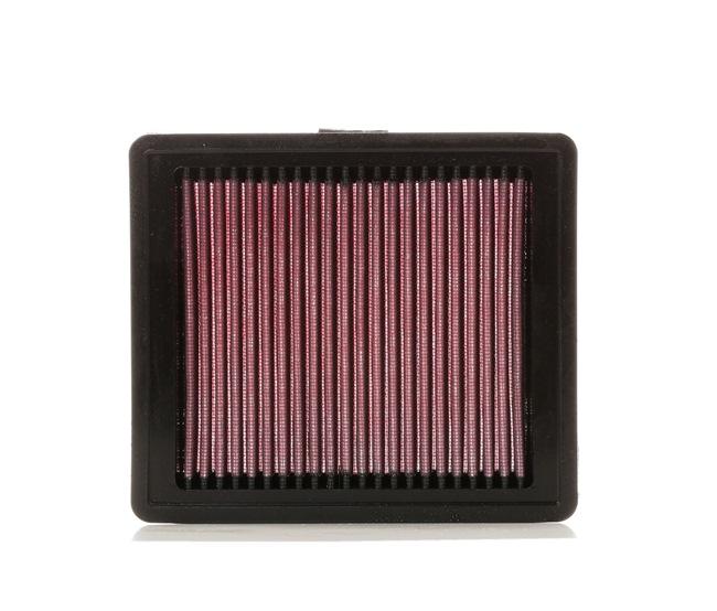 K&N Filters Filtro de aire motor FORD Filto de larga duración