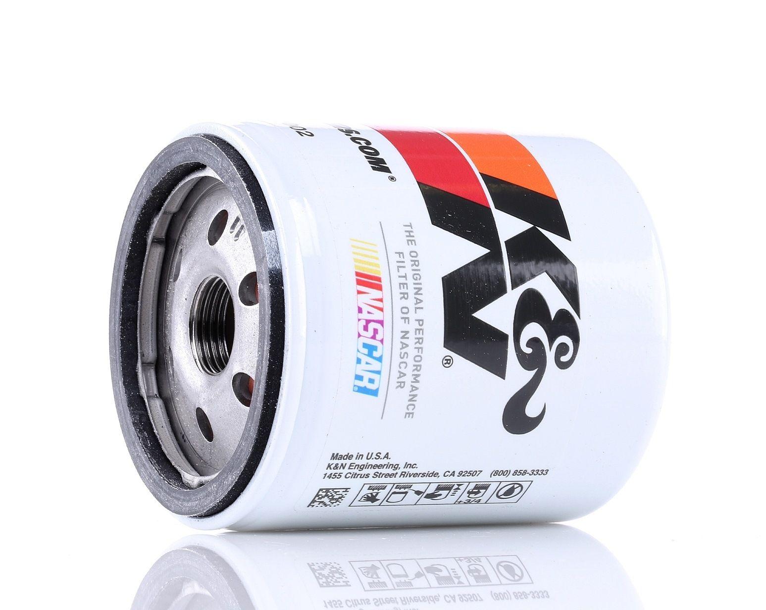 Filter K&N Filters HP-1002 Bewertung