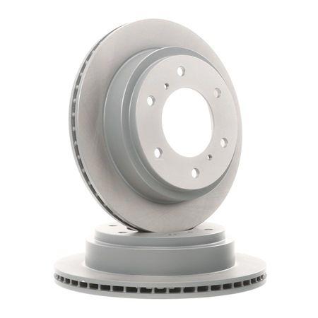 Frenos de disco BLUE PRINT 2880031 Eje trasero, Ventilación interna, revestido