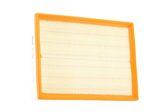 Luftfilter Länge: 224,5mm, Höhe: 56,9mm, Länge über Alles: 302,5mm mit OEM-Nummer PHE 000112