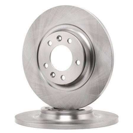 Frenos de disco FERODO DDF1275C 1, con tornillos