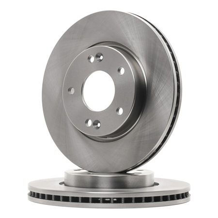Brake discs and rotors FERODO DDF1619 Vented, with screws