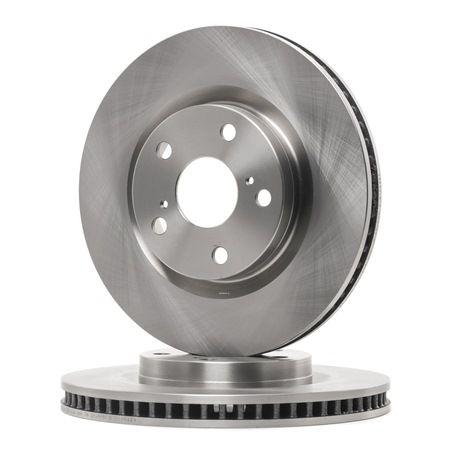 Frenos de disco FERODO DDF16461 ventilado, sin tornillos
